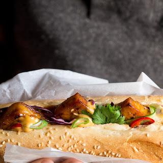 Tofu BáNh Mì with Vegan Sriracha Mayo Recipe