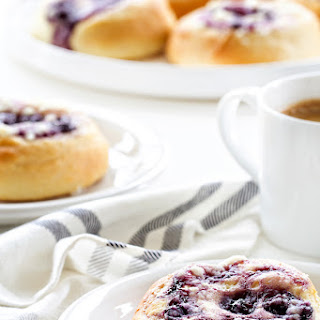 Blueberry Cream Cheese Kolaches.