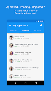 Zoho People- screenshot thumbnail