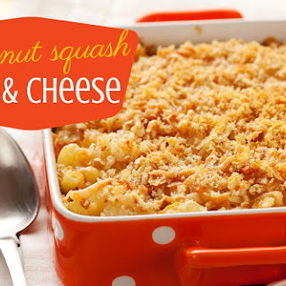 Butternut Squash Mac and Cheese.