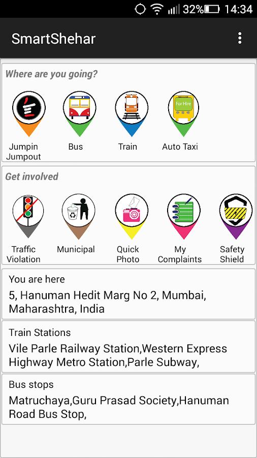 SmartShehar- screenshot