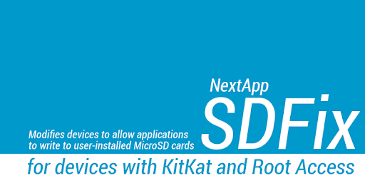 SDFix: KitKat Writable MicroSD (ANDROID 4 4 ONLY) - Apps on
