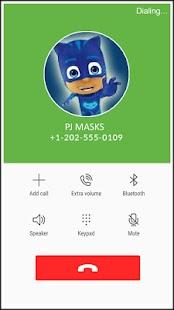 Pyjamasques Fake Call PJ Simulator Masks - náhled