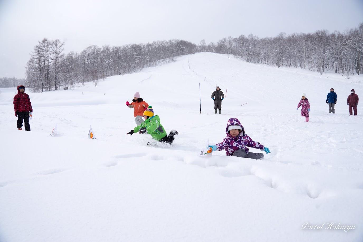 スノーフラッグ競技