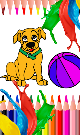 Coloring Games - Puppy