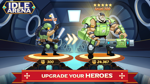 Idle Arena - Clicker Heroes Battle 5007 screenshots 8