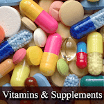 Vitamins & Supplyment Icon