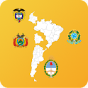 South American Countrys States icon