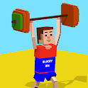 Blocky Olympics Weightlifting icon