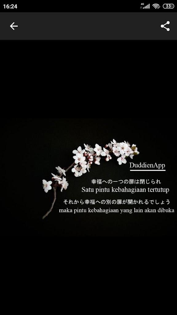 Kata Mutiara Dalam Bahasa Jepang Dengan