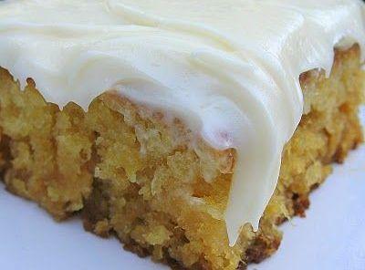 Miss Jackie's Pineapple Sheet Cake Recipe