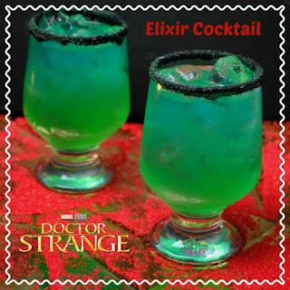 Dr. Strange Elixir Cocktail.