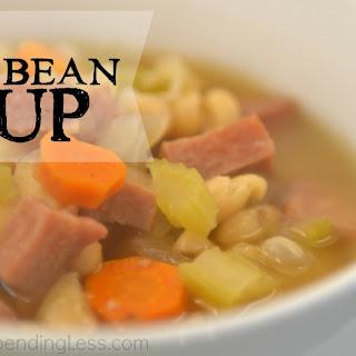 Easy Ham & Bean Soup.