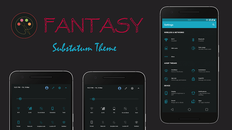 Fantasy Substratum Theme v2.7R [Patched]