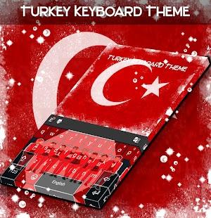 Turecko Klávesové téma - náhled