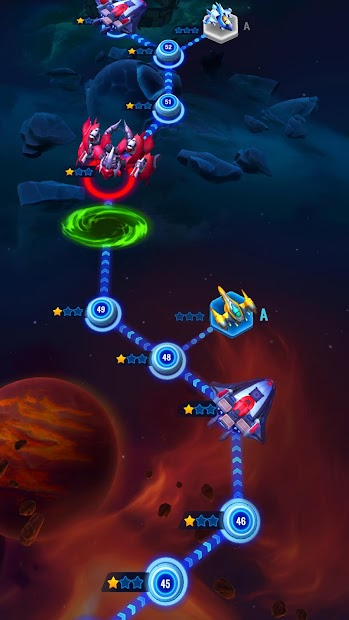 Space Justice – Galaxy Shoot 'em up Shooter Android App Screenshot
