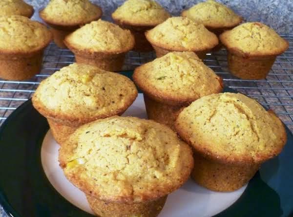 Corn And Pepper Muffins Recipe