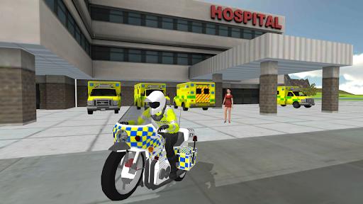 Police Car Driving - Motorbike Riding apkmr screenshots 21