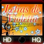 Letras de Violetta