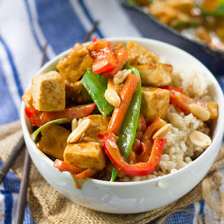 Rainbow Peanut Butter Stir-Fry