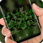Green Camo Keyboard Army Soilder Icon