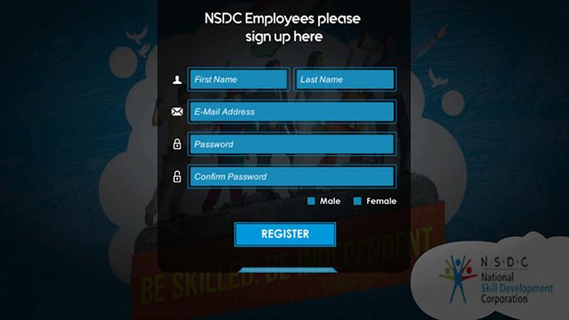 Скриншот NSDC Induction