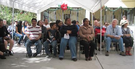 Photo: Guests and Families at Pastorela Dec. 2012