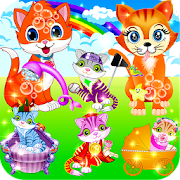 Game My Kitty Cat && Fluffy Pet Care APK for Windows Phone