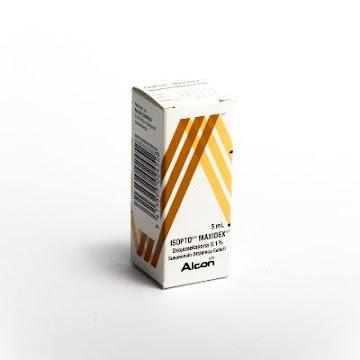 Dexametasona Isopto Maxidex 0.1% Suspensión Frasco X5Ml. Novartis Dexametasona