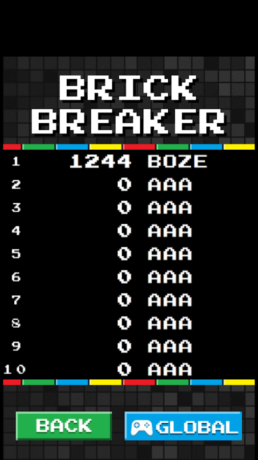 Brick Breaker Arcade- screenshot