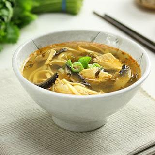 Thai Chicken & Mushroom Soup.