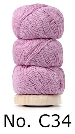 Geilsk Bomull & Ull, rosa 34