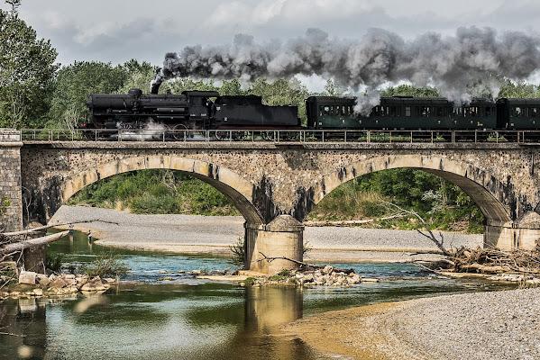 Treno a lunga percorrenza  di Fiore Doncovio