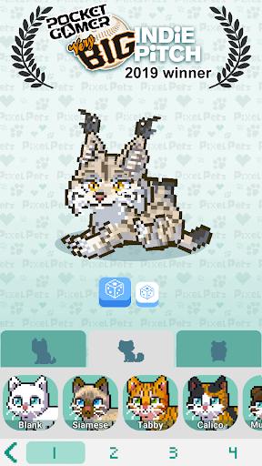 Télécharger Pixel Petz  APK MOD (Astuce) screenshots 1