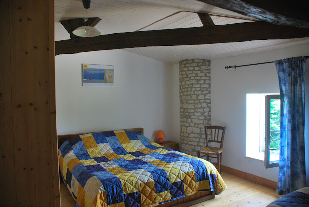 Dormitorio matrimonial - Casa rural de alquiler para 3 personas en Surgeres cerca de La Rochelle costa atlantica de Francia
