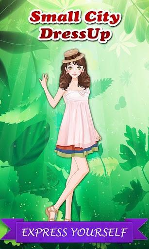 無料休闲Appの小さな街のドレスアップ|HotApp4Game