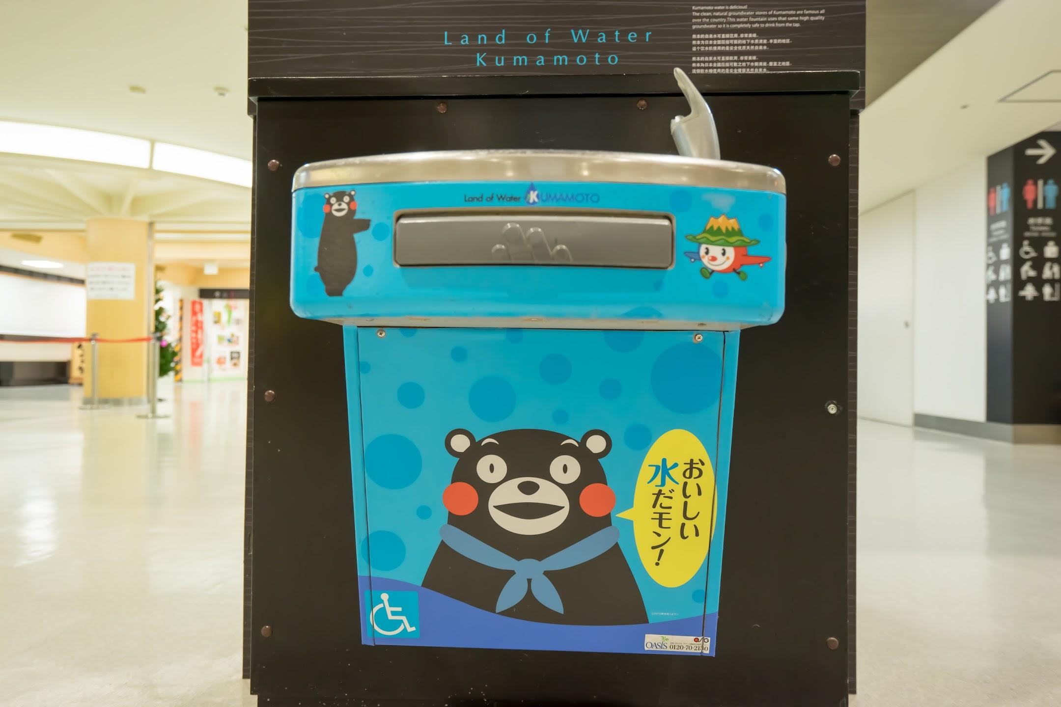 Kumamoto Airport Kumamon4