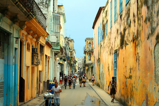 A Havana street scene.
