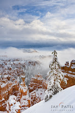 Photo: Let it Snow, Bryce Canyon National Park#landscapephotography  #photographyworkflow  #photographytips Happy Holidays to All the G+ Users!!Here is an image from Bryce Canyon that just displays the Holiday spirit. On this particular day we arrived at the Bryce with 18+ inches of fresh snow. The roads were not plowed and our SUV made the first tracks in the park early in the morning....and what we witnessed was just fantastic Winter scene.How was this image created?I used a simple GND filter to balance the light between the sky and the ground. But tricky part was to get the exposure correct. Because the scene was dominated by the whites the camera consistently underexposed the image. I use the histograms at back of the camera to balance the scene.Enjoy & Share._______