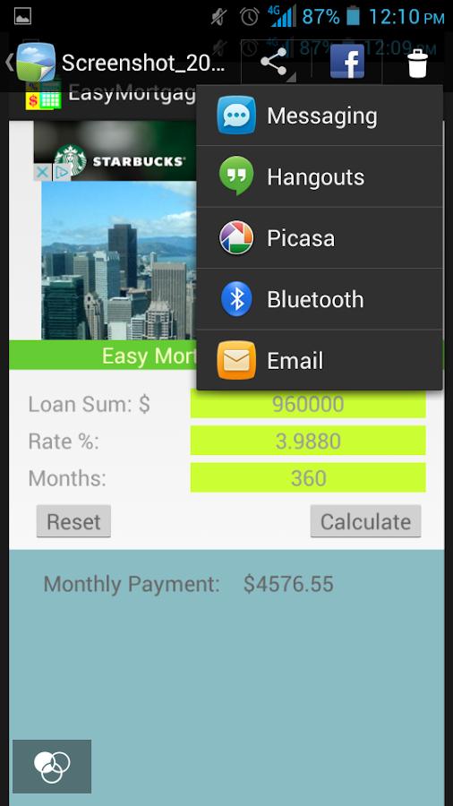 easy mortgage calculator app