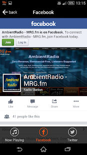 MRG.fm Radio- screenshot thumbnail