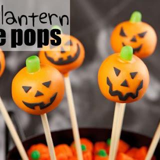 Jack o'Lantern Cake Pops {vegan}