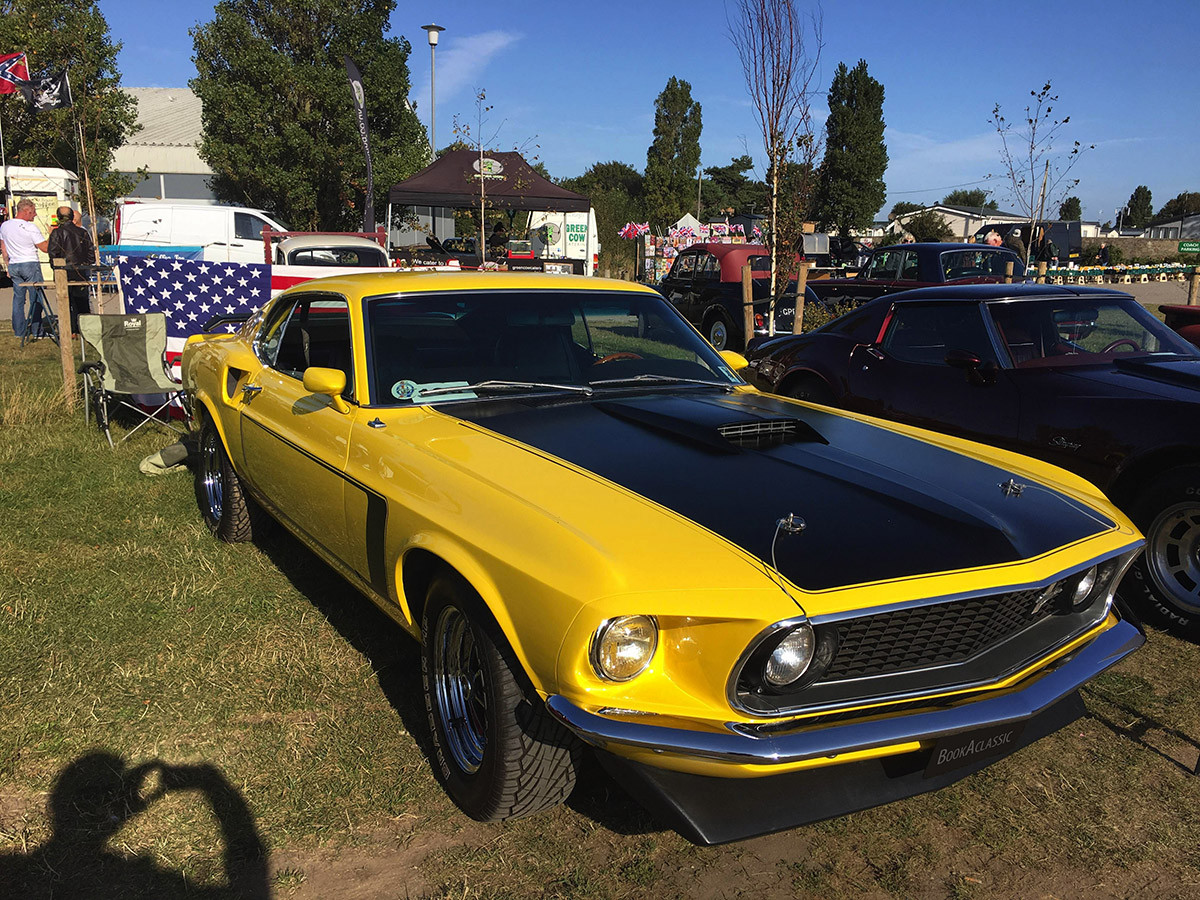 Ford Mustang Fastback Hire Frinton-on-sea