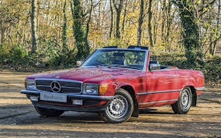 Mercedes-Benz 380SL Rent Greater London