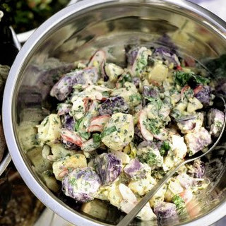 Purple Potato Salad Recipes.