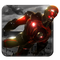 Ultimate Superhero Flying Iron City Rescue Mission icon