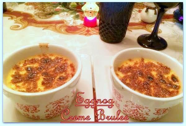 Eggnog Creme Brulee Recipe