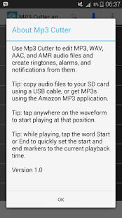 Mp3 Cutter and Ringtone Maker screenshot 6