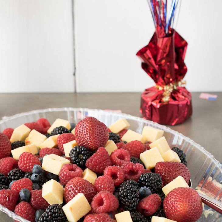 Summer Fruit Panzanella Salad Recipe