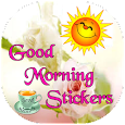 Good Morning stickers for whatsapp
